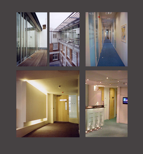 CV of Experience: Office interior fitouts - Various London locations